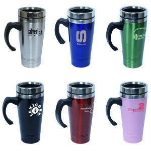 """14oz / 414ml Stainless Steel Travel Mug"""